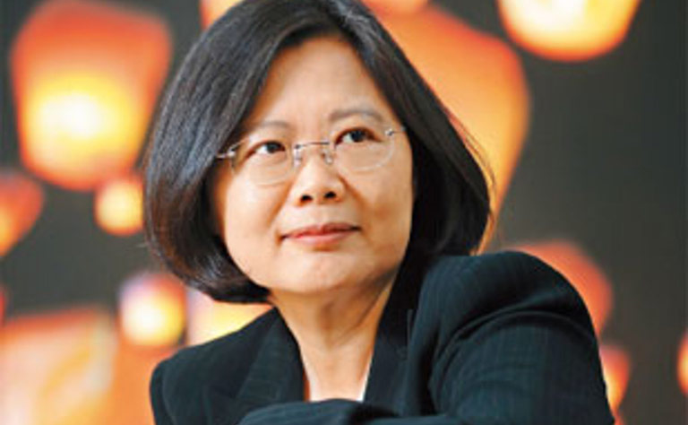 "New President ""Tsai Ing-wen"""